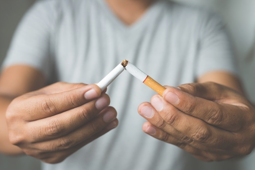 Use a respiratory therapist to quit smoking