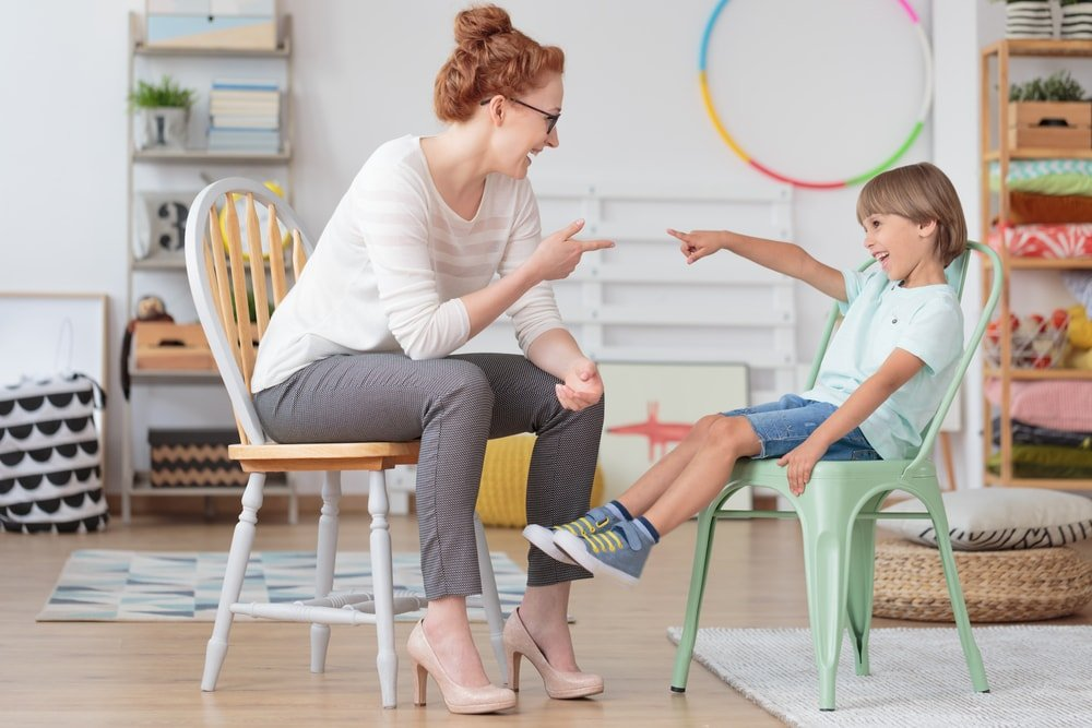 Speech therapy for school-age children